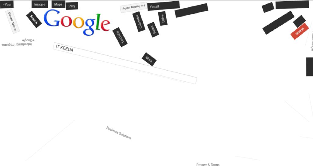 Google space