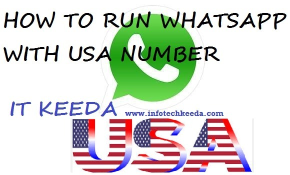 How to run WhatsApp with USA number 1