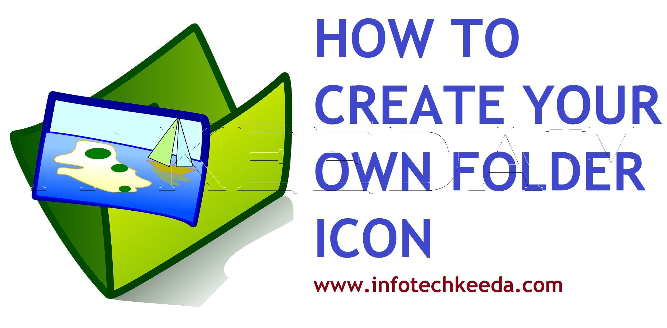 How to create your own photo as a folder icon 3