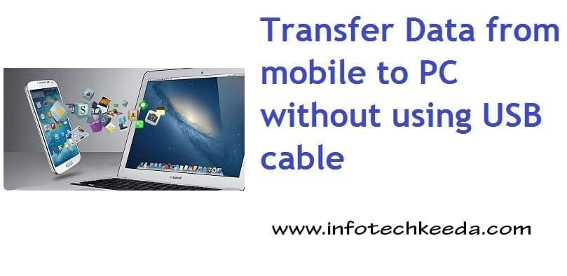 Mobile pc data transfer