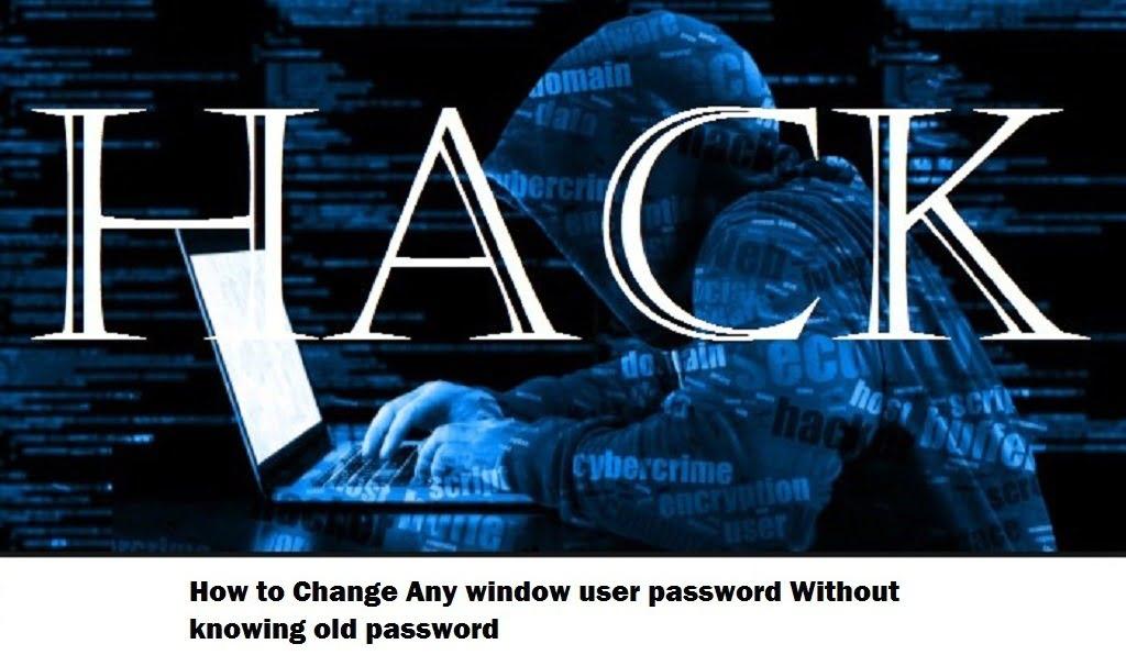 Hack window password