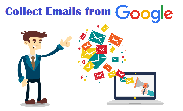 Email Collection method for E-mail Marketing