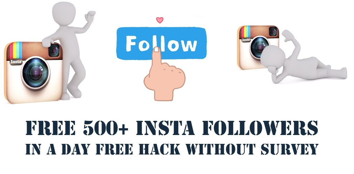 Free insta followers trick