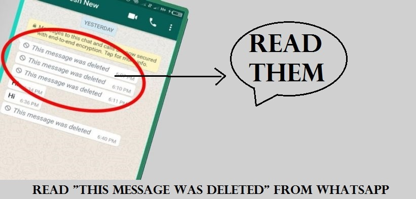 Read This message was deleted