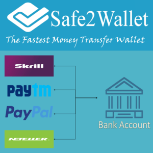 Skrill to Paytm Money Transfer or E-Currency exchange within 10 min?