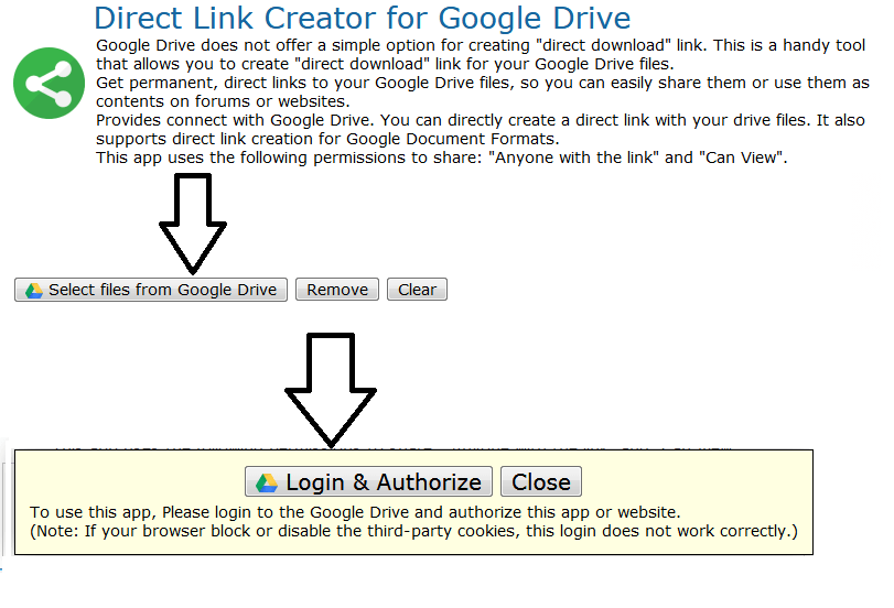 How to create direct download link from Google drive in 2 minutes 1