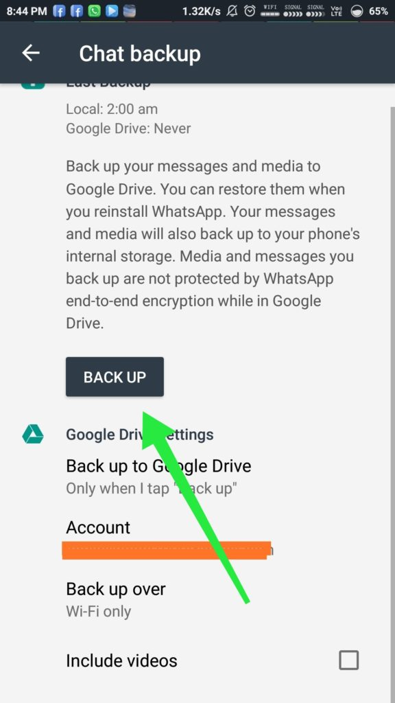 Whatsapp & Google Drive New Agreement: Smart online storage and backup for your files, photos, videos, and more.