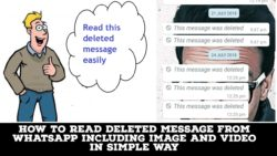 read deleted message from Whatsapp