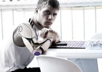 Robot vs Man