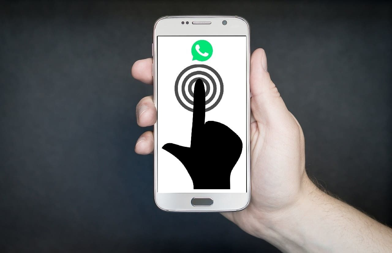 Whatsapp finger sensor authentication