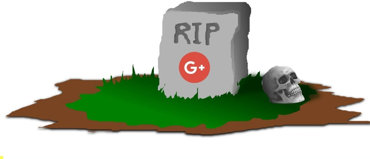 Google Plus personal account Shutdown